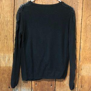 Zara Sweaters - Zara Lace sleeve cardigan